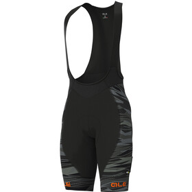 Alé Cycling Graphics PRR Rock Bib Shorts Heren, black/fluo orange